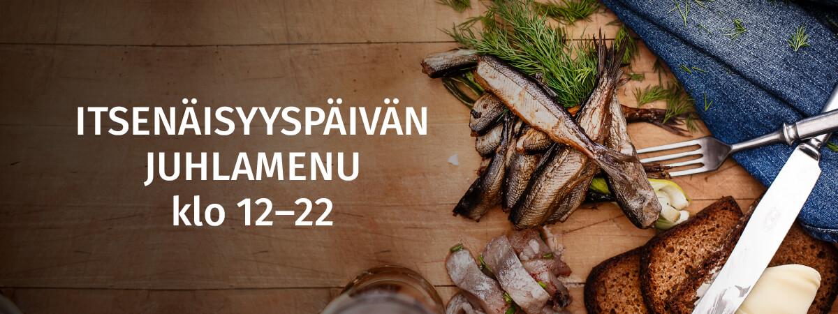 Itsenäisyyspäivän juhlamenu - Ravintola Wanha Makasiini
